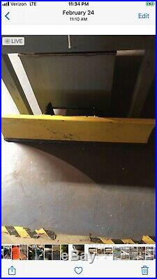 John Deere 47 snowblower/pwr Ang plowithshaft fits 425-445/455 tractor not include