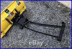 John Deere 48-inch Blade Snow Plow Fits Various Models (excellent Condition!)