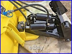 John Deere Gator >> John Deere Plow » John Deere 54 4 Way Power Angle Plow Snow Blade 318 322 332 317 316 140 300 330