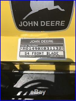 John Deere Plow 187 John Deere 54 Blade Snow Plow And