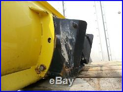 John Deere 54 Frond Snow Plow Blade M01490X Blade only no hitch