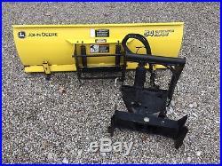 John Deere 54 Front Blade X Series Garden Tractor Quick Hitch Snow Plow
