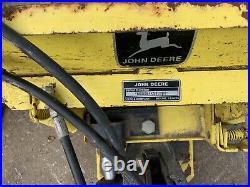 John Deere 54 Hydraulic Angle Plow Blade 120 140 300 312 314 316 317 318 322 332