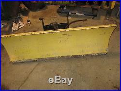 John Deere 54 Hydraulic Plow Blade 420 430 Garden Tractor Nice Shape