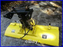 John Deere 54 Hydraulic Power Angle Plow Blade 420 430 Garden Tractor Nice Shape