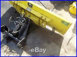 John Deere 54 Hydraulic Snow Plow Blade 400 420 430 Garden Tractor Nice Shape