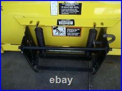 John Deere 54 Quick Hitch Front Snow Plow Blade M054FBX029722 BLADE ONLY