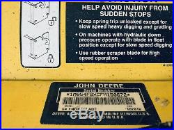 John Deere 54 Snow Plow And Four Way Quick Hitch (shipping)
