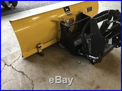 John Deere Plow John Deere 54 Snow Plow And Quick Hitch For X
