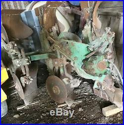 John Deere 825A Two-Way Rollover Plow-3 Bottom-Working Condition-Refurbished