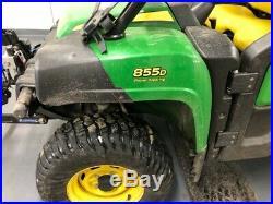 John Deere 855D 4WD Diesel with Plow