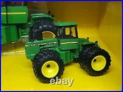 John Deere 8640 4wd Tractor Set 2008 Plow City Toy Show By Ertl 1/32 & 1/64