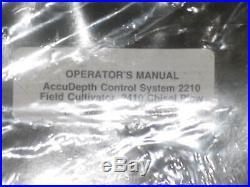 John Deere Accu Depth Control System Field Cultivator Chisel Plow