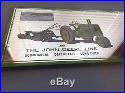 John Deere Advertising Mirror Dumont Iowa 2 Bottom Plow