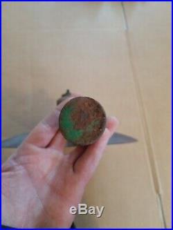 John Deere Disk Plow Moldboard Type scraper blade and arm Vintage Farm Equipment