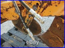 John Deere Dozer Fire Plow Fesco 350C Good Shape 450 Attachment Brake