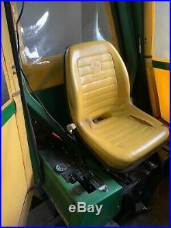 John Deere F925 Commercial Tractor Mower, Leaf System, Snowblower, Plow, Brush