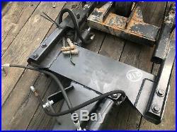 John Deere F935 F1145 Power Angle Snow 60 5ft Hydraulic Plow Blade