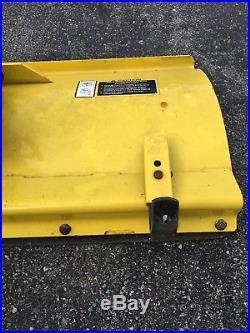 John Deere GT225 GT235 GT245 LX288 Garden Tractor 48 Front Snow Plow Blade