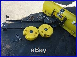 John Deere GX325 GX335, GX345, GT235, GT245, 355D, plow, wheel weights, chains