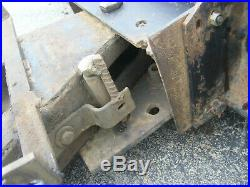 John Deere Garden Tractor 54C Mid Mount Center Belly Grader Blade Plow