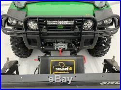 John Deere Gator 825i Snow Way Plow Immaculate 300 miles
