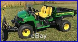 John Deere Gator HPX 4x4 with plow
