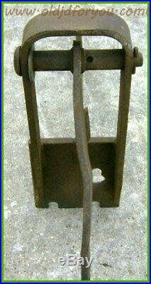 John Deere H Plow Bracket DA766A DA587A DA3542A Fits H1 Plow Original Part