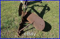 John Deere JD No. 30 1 Bottom Breaking Plow 950 1050 Cat 1 3pt Hitch