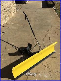 John Deere L108 L110 L111 L120 L130 LA150 LA175 Lawn Mower 46 Front Snow Plow