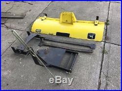 John Deere LT133 LT155 LT166 42 Front Snow Blade Plow & Frame with Hand Lift