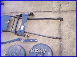 John Deere LT150, LT160, LT170, LT180 44 Plow TIRE CHAINS & WEIGHTS