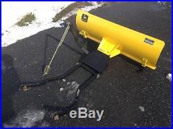 John Deere LX172, LX173, LX176, LX178, LX186, LX188, GT262, GT275 snow plow