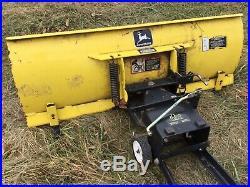 John Deere LX GT GX 325 345 48 Snow Plow Blade LX280 LX288 GT235 GT245 GX345