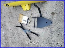 John Deere Lawn Tractor Snow Plow Blade 42 inch 100 GT LX Series Deer NEW
