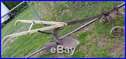 John Deere Model 418 right hand walking plow