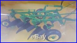 John Deere Model 55 Three Bottom Plow by SpecCast 1/16th Scale Die Cast NEW