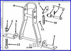 John Deere Moldboard plow hitch mast attachment F145 F135 2010 620 630 720 730
