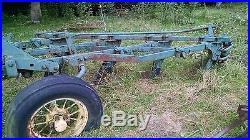 John Deere Plow 4 bottom drag plow moldboard Case Minnie Oliver