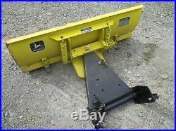 John Deere Plow / Blade Fits 110 112 200 208 210 212 214 216 Model 43 Excellent