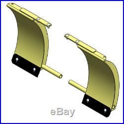 John Deere Plow Wings 18-inch Snow Blade Extension Kit