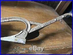 John Deere Salesman Sample Plow Rare Piece Metal