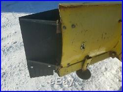 John Deere Snow Blade Plow Wings Extensions