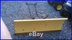 John Deere Snow Plow Blade