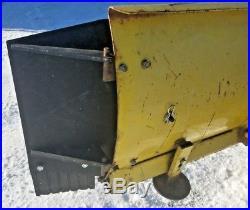 John Deere Snow Plow Blade Extensions Wings