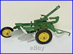 John Deere Two Bottom Lever Plow By Eska 1950's Nice Original Condition