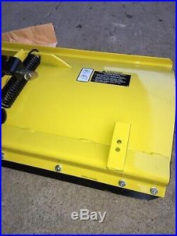 John Deere X500 X520 X530 X540 Lawn Mower 48 Front Snow Plow Blade NIB BM23048