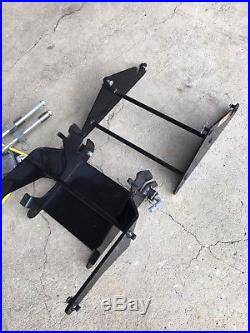 John Deere X570 X580 X584 X590 Lawn Mower 48 Front Snow Plow Blade & Parts