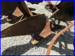 John Deere antique Model 52 2 bottom plow