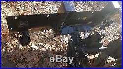 John Deere snow plow off of 955 fits 755 855 etc heavy duty complete